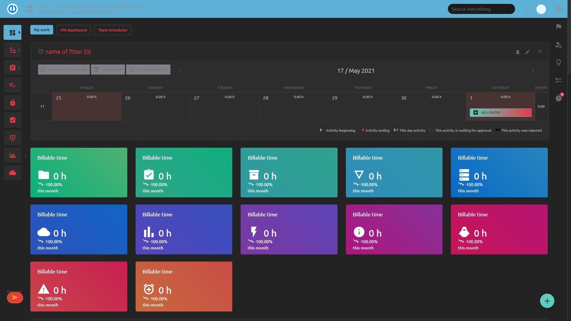 Easy Redmine 2019 - Temi di design personalizzati